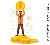 successful businessman standing ...   Shutterstock .eps vector #1925335019