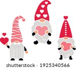 valentines gnomes with heart... | Shutterstock .eps vector #1925340566