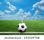 football and soccer field grass ... | Shutterstock . vector #192539708