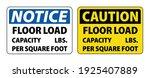 floor load capacity per square... | Shutterstock .eps vector #1925407889