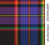 rainbow plaid  checkered ...   Shutterstock .eps vector #1925441849