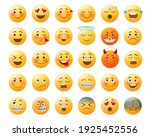 emoticon emojis vector set. ...   Shutterstock .eps vector #1925452556