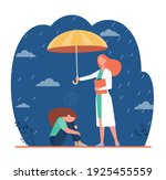 counselor helping depressed... | Shutterstock .eps vector #1925455559