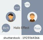 halo effect influences how we...   Shutterstock .eps vector #1925564366