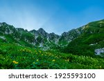Central Alps Mountain Peak With ...