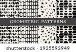 set of geometric seamless...   Shutterstock .eps vector #1925593949