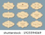 set of retro style craft labels | Shutterstock . vector #1925594069