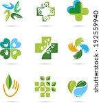 natural alternative herbal... | Shutterstock .eps vector #192559940