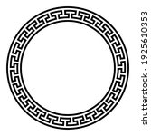 circle frame with simple... | Shutterstock .eps vector #1925610353