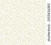 baroque wallpaper. seamless... | Shutterstock .eps vector #1925616383