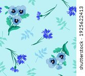 seamless pattern with colorful... | Shutterstock .eps vector #1925622413