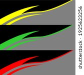 racing car wrap design vector | Shutterstock .eps vector #1925623256