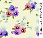 seamless pattern with colorful... | Shutterstock .eps vector #1925624603