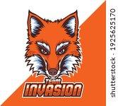 fox mascot logo for e sport team | Shutterstock .eps vector #1925625170