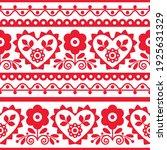 polish traditional vector... | Shutterstock .eps vector #1925631329