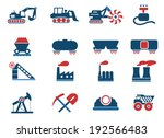 factory and industry symbols   Shutterstock .eps vector #192566483