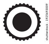 frame for a stamp lettering or... | Shutterstock .eps vector #1925693009