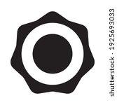 frame for a stamp lettering or... | Shutterstock .eps vector #1925693033