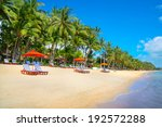 tropical resort panorama in koh ... | Shutterstock . vector #192572288