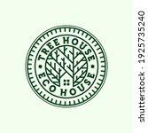 premium house logo illustration ... | Shutterstock .eps vector #1925735240