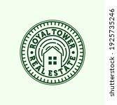 premium real estate modern logo ... | Shutterstock .eps vector #1925735246