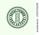 premium real estate modern logo ... | Shutterstock .eps vector #1925735249