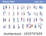 isomeric business people big...   Shutterstock .eps vector #1925757659