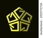 initial letter g  g5 or 5g logo ...   Shutterstock .eps vector #1925772710