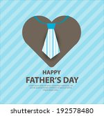 happy fathers day | Shutterstock .eps vector #192578480