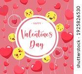 emotional valentines day banner.... | Shutterstock .eps vector #1925826530