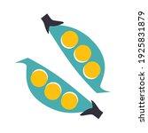 vegetables icon vector.... | Shutterstock .eps vector #1925831879