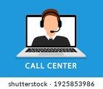 support service. customer... | Shutterstock .eps vector #1925853986