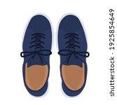 men's shoes vector stock...   Shutterstock .eps vector #1925854649