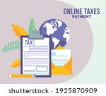 online taxes payment with...