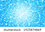 swimming pool water background... | Shutterstock .eps vector #1925874869