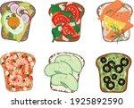 healthy food concept. breakfast....   Shutterstock .eps vector #1925892590