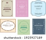 western  fashionable and... | Shutterstock .eps vector #1925927189