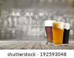 american craft beer | Shutterstock . vector #192593048