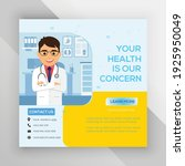 healthcare social media post...   Shutterstock .eps vector #1925950049