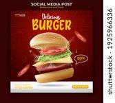 food and restaurant menu banner ... | Shutterstock .eps vector #1925966336