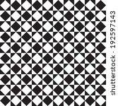 seamless black and white... | Shutterstock .eps vector #192597143