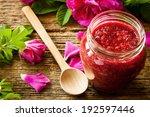 Homemade Jam Made From Damascus ...
