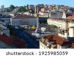 Lisbon   June 1  2013  Aerial...
