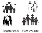 family big family small family... | Shutterstock .eps vector #1925993180