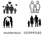 family big family small family... | Shutterstock .eps vector #1925993183