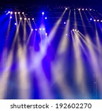 vector stage spotlight with... | Shutterstock . vector #192602270