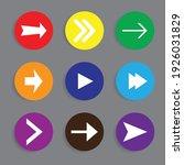 arrow icon set. great vectors...