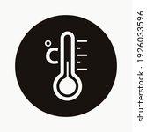 celsius temperature icon design ... | Shutterstock .eps vector #1926033596