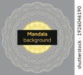 mandalas. decorative round... | Shutterstock .eps vector #1926046190