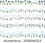 illustration set of city town ...   Shutterstock .eps vector #1926046313